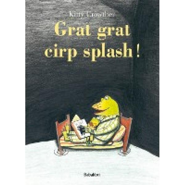 Piccoli libri: il papà rana moderno prende per mano il suo ranocchio