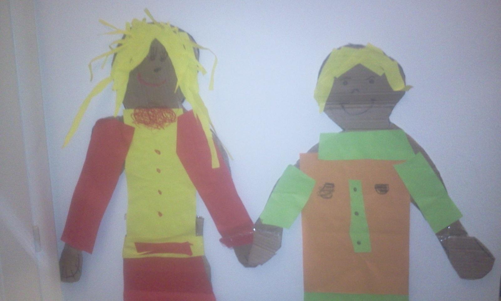 Tipo e Tipa: due amici di cartone per un pomeriggio creativo e divertente!