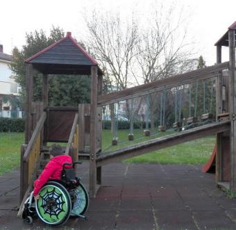 parco giochi non accessibili ai bimbi disabili