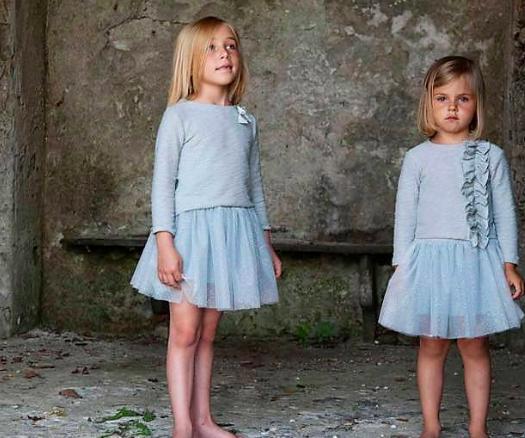 Abiti e accessori per bambini alla moda alla sfilata di Graziella Baby a Rimini