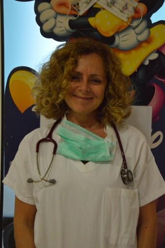 Roberta Pericoli, responsabile dell'Oncoematologia pediatrica dell'ospedale di Rimini