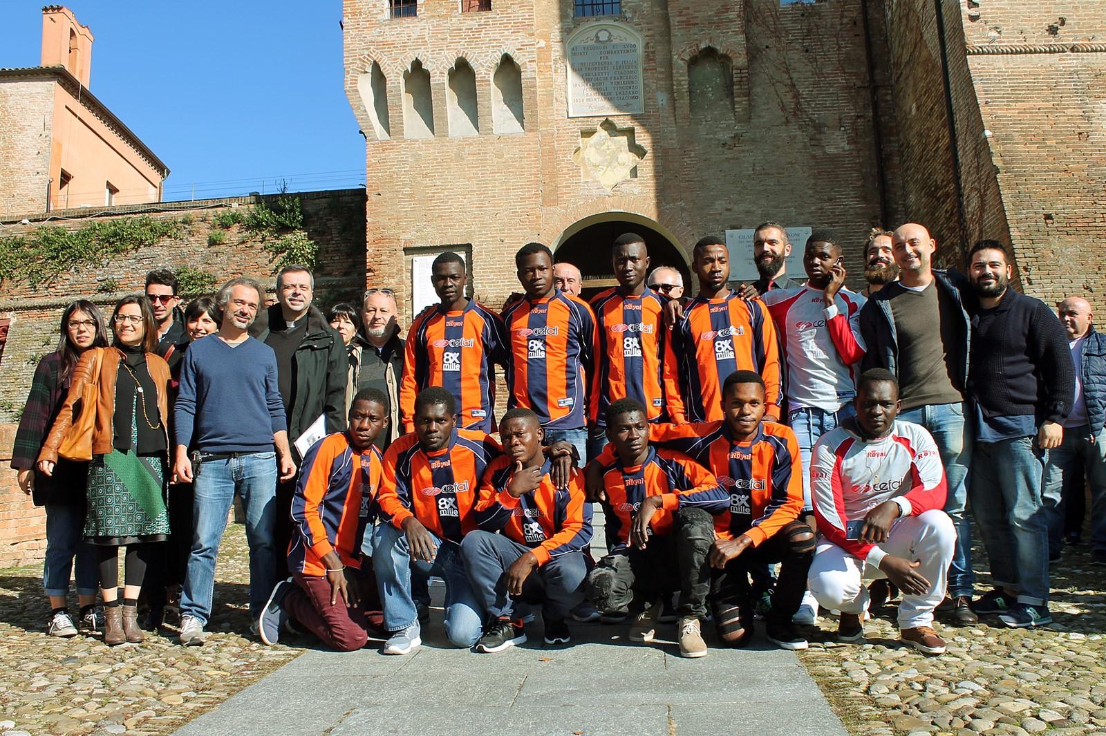 Ragazzi richiedenti asilo, a Lugo la nuova squadra di calcio