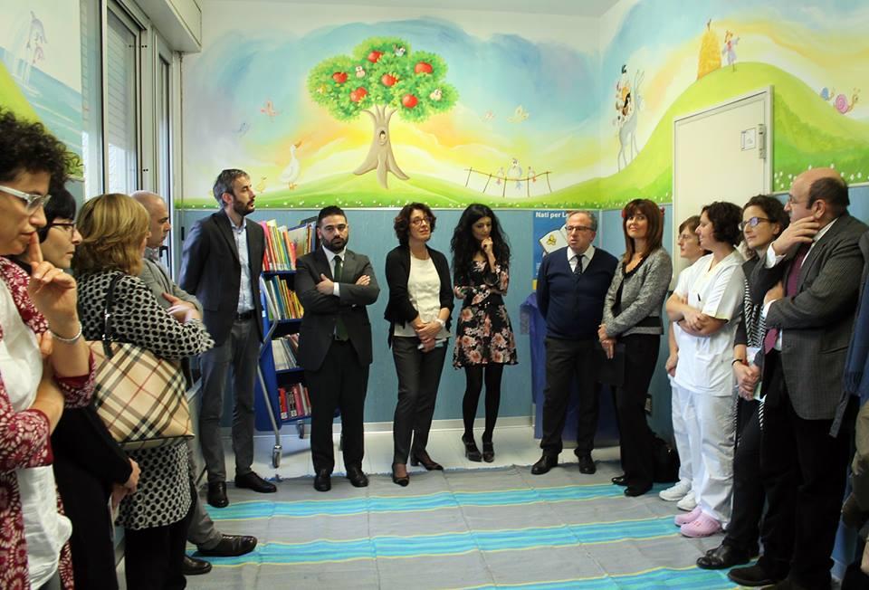 La Pediatria di Lugo diventa più accogliente e colorata