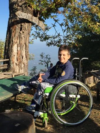 Cristian, di Santarcangelo: la Sma gli è stata diagnosticata a poco più di un anno di età