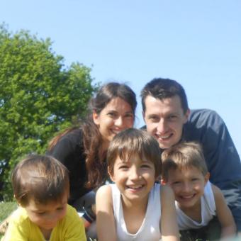La famiglia di Linda Maggiori