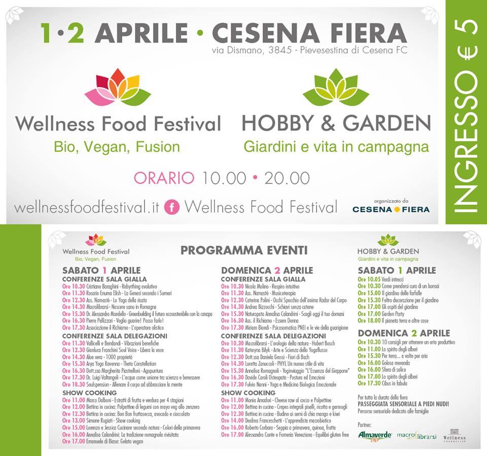 programma wellness food festival 2017