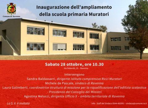 Ravenna, completata la scuola Ricci Muratori