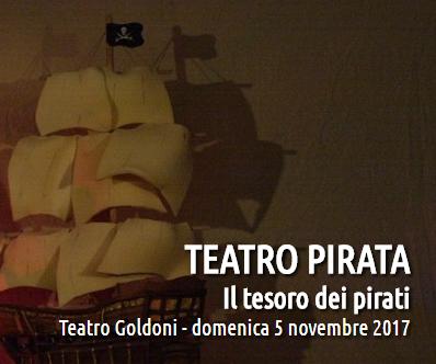 Il tesoro dei pirati - spettacolo per bambini a Bagnacavallo
