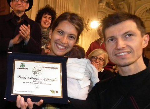 Faenza, mamma Linda Maggiori premiata da Legambiente