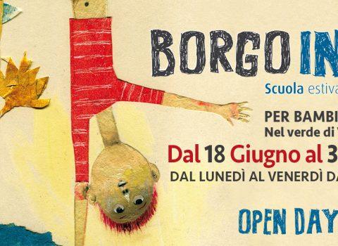 Borgo Indaco, open day alla Scuola estiva di + arti