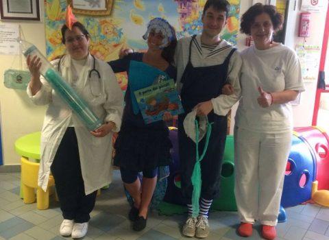 Cesena: spettacolo per i bimbi in Pediatria