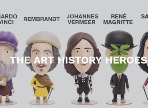 Dalì, van Gogh e Leonardo: i pupazzetti per imparare l'arte