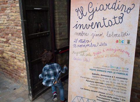 """""""Il Giardino inventato"""", al via a Cervia i laboratori legati alla mostra di Immaginante"""