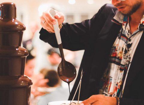 Ad Atlantis Family Restaurant Willy Wonka e la sua fabbrica di cioccolato