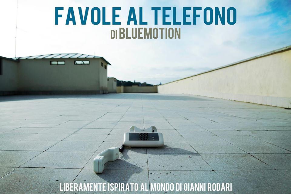 Bluemotion narra le favole al telefono di Rodari attraverso una cornetta. Come in un call center