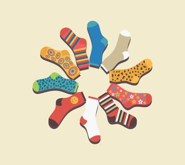Venti modi per riciclare i calzini spaiati