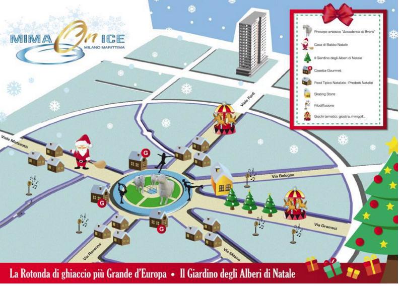 Milano Marittima, apre la pista di ghiaccio più grande d'Europa