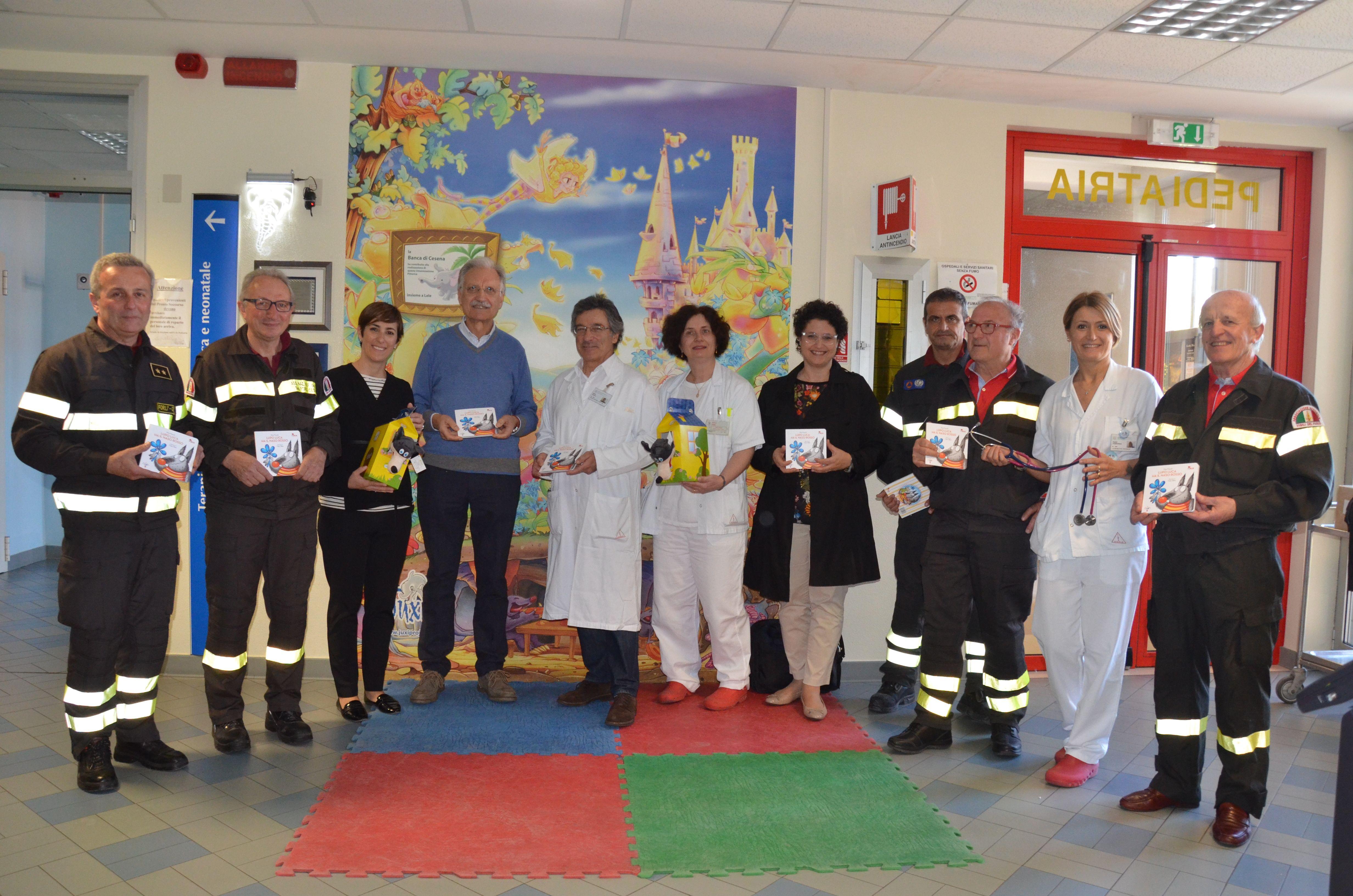 Pediatria Cesena: donazioni per i piccoli pazienti