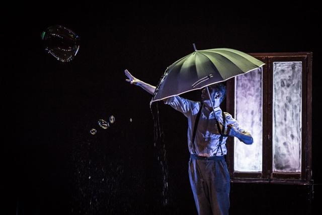 L'omino della pioggia arriva a Cotignola
