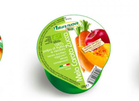 Natura Nuova, nelle polpe di frutta arrivano la zucca, il mango e la carota