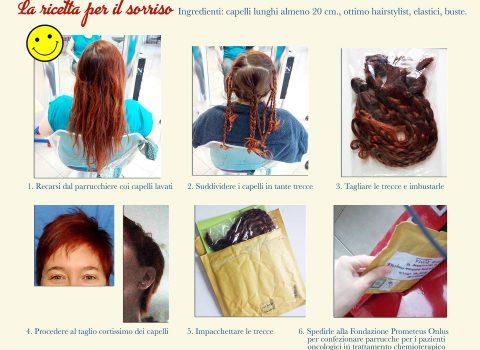 """Raffaella, illustratrice faentina: """"Dono i miei capelli alle donne malate di tumore"""""""