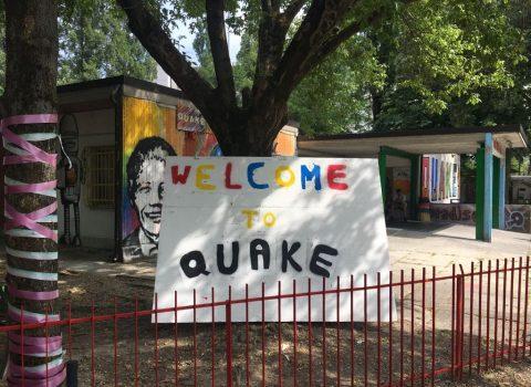 Ravenna, aula studio al centro giovanile Quake