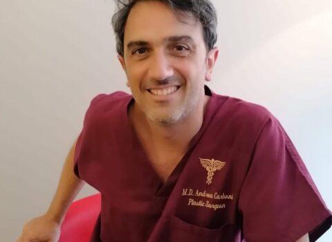 Andrea Carboni, chirurgo plastico: «Gessica Notaro e il Covid mi hanno cambiato come medico e come uomo»